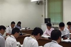【府議会】9月 定例会の議案説明の様子